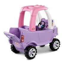 amazon com little tikes princess cozy truck ride on toys u0026 games
