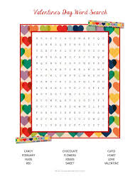 thanksgiving word search pdf valentine u0027s day word search laura u0027s crafty life