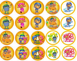 umizoomi cake toppers team umizoomi cookie etsy