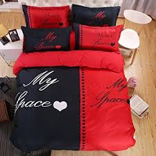 his and hers bed set tm his side side 4pcs bedding set duvet cover