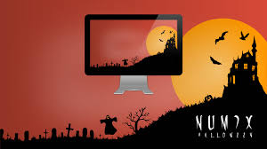 numix halloween wallpaper by satya164 on deviantart