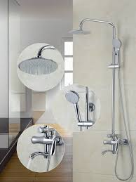 New Shower Faucet 53051 Bathtub Shower New European Style Wall Mounted Bathroom