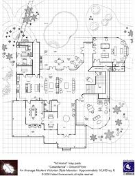 Floor Plan For Mansion Modern Floorplans Victorian Style Mansion Fabled Environments