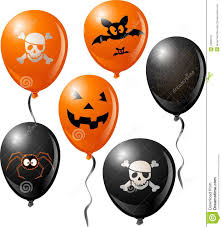 halloween balloon set royalty free stock photography image 10695737