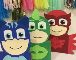 12 pj masks 3 characters party bags pj masks party favors pj