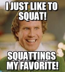 Squat Meme - squatting elf i just like to squat on memegen