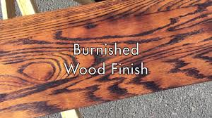 burn on wood how to create a burnt wood finish on vimeo