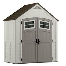 blow molded resin storage shed suncast garden tool pool yard