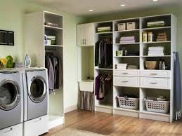 Laundry Room Storage Cabinets Ideas - house u0026 home models laundry room storage ideas with wooden