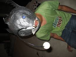 how to make a mask for halloween how to make an anglerfish mask 7 steps with pictures