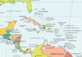 political map of central america and the caribbean political map of mexico central america and the caribbean mexico map