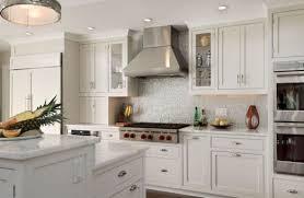 Kitchen Backsplash With White Cabinets Backsplash With White Kitchen Cabinets Morespoons 0fda49a18d65
