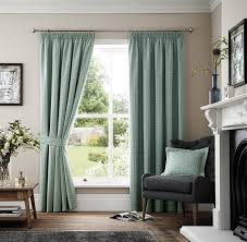 ramsdens home interiors marlowe duck egg ready made curtain curtains blinds clearance