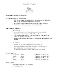 gallery of resume blank sample 2017 blank professional resume
