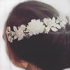 hair wreath wedding hair vine bridal floral hair wreath tiara comb bohemian