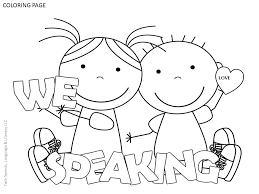 free speech therapy door signs u0026 coloring pages twin speech