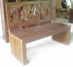 singapore carving indoor benches mahogany teak wooden furniture