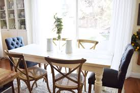 our farmhouse inspired diy dining table u2013 almafied com