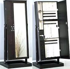 standing mirror jewelry cabinet standing mirror jewelry armoire ivanlovatt com