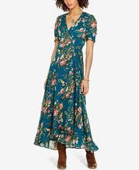 denim u0026 supply ralph lauren floral print gauze wrap dress