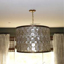 decorations sparkling ornament in drum lamp shade idea creative decorations sparkling ornament in drum lamp shade idea creative light fixtures with nice lamp designs