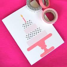 geburtstagskarten design geburtskarten gestalten 29 ideen zum nachbasteln