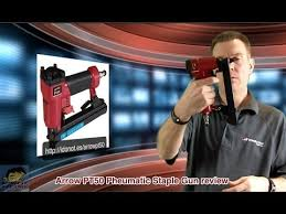 Best Pneumatic Staple Gun For Upholstery Arrow Pt50 Pneumatic Staple Gun Review Youtube