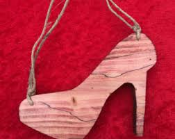 high heel ornament etsy
