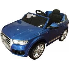 Audi Q7 Models - kids audi q7 licensed ride on car 12v electric blue