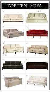 top ten sofas