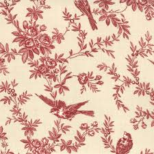 Upholstery Fabric With Birds Superb Red Toile Fabric 98 Red And White Toile Upholstery Fabric