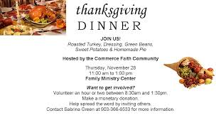 thanksgiving dinner community clipart collection