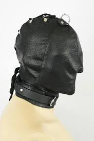 leather mask leather mask perforated awanstar leather fashion