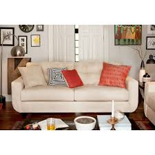 Cream Sofa And Loveseat West Village Sofa Cream Value City Furniture