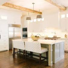 Kitchen Island With Built In Seating Beautiful Kitchens Great Kitchen Island With Upholstered Bench