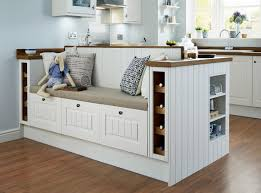 Shaker Style Kitchen Ideas Create A Bespoke Seating Area With Our Burford Tongue And Groove