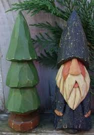 Tall Wooden Christmas Decorations by Hand Carved Wooden Christmas Tree Wood Tree Carved Tree 9 Inches