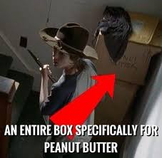 Peanut Butter Meme - the walking dead peanut butter memes of the walking dead the