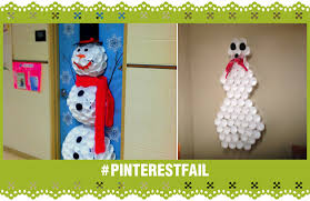 snowman door decorations fail snowman door decor fail