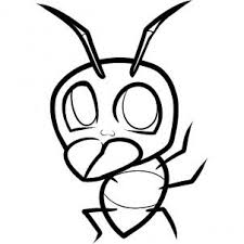 how to draw how to draw an ant for kids hellokids com