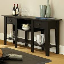 Foyer Table With Drawers Admirable Black Console Table Decorating Furniture Comes With