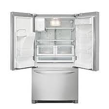 Stainless Steel Refrigerator French Door Bottom Freezer - kenmore 26 7 cu ft french door bottom freezer refrigerator