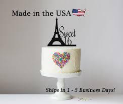 sweet 16 cake topper sweet 16 eiffel tower cake topper topper eiffel