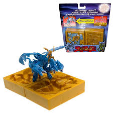 mattel year 2004 yu gi oh tablet monsters series 4 inch tall 3 d