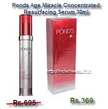 Serum Wajah Ponds Age Miracle ponds age miracle concentrated resurfacing serum 30ml rs 369