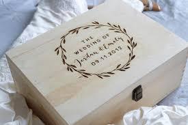 wedding keepsake box keeps personalised wooden wedding keepsake box