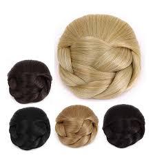 Chignon Maker Black Synthetic Hair Bun Black Synthetic Hair Bun Suppliers And