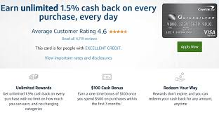 get 5 cashback on purchase capital one quicksilver back rewards card review