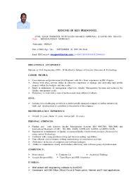 Corporate Trainer Resume Sample by Murugan Cv