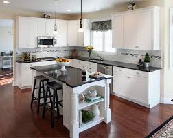 Kitchen Colors With Black Cabinets Blue And White Countertop Kitchen Colors With White Cabinets And